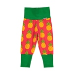 Maxomorra Pants Rib PINEAPPLE