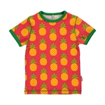 Maxomorra Top Shortsleeve PINEAPPLE