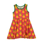 Maxomorra Dress Gathered PINEAPPLE