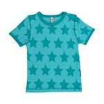 Maxomorra Top Shortsleeve STARS