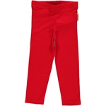 Maxomorra Leggings Cropped red