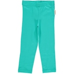 Maxomorra Leggings Cropped turquoise