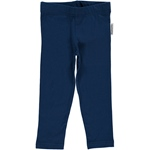 Maxomorra Leggings Cropped dark blue