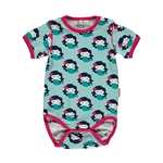 Maxomorra Body Shortsleeve MERMAID