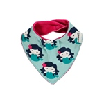 Maxomorra Bib Dribble MERMAID