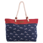 Brakeburn BOATS BEACH BAG navy