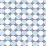 WINTER STIP Flausch hellblau grau weiß