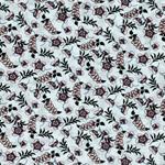MILEY Viskose kleine Blumen mint