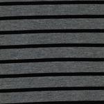 BELFORT Viskose-Feinstrick grau schwarz