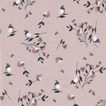 EDONITA Viskose Blumen puderrosa
