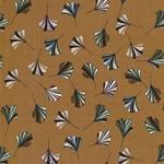 DONA SENAPA Krepp-Viskose Blätter ocker