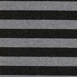 CAMPENO Jersey Streifen anthra grau meli