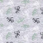 BEEP ROBOTS Jersey Roboter grau grün