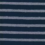 FLEET-STRIPE Jersey Streifen jeansblau g