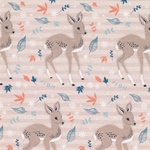 WINTER-BAMBI Sweat Rehe zartbraun