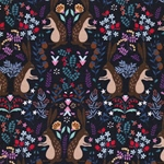 RUSSIAN RABBIT Sweat Hasen aubergine