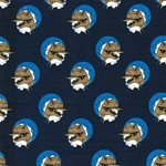 DINOSTAR Sweat Dinoköpfe dunkelblau