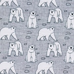 ARCTIC BEAR Sweat Eisbären hellgrau meli