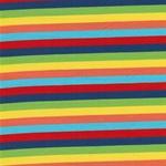 LOU Jersey Streifen rot blau grün gelb