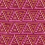 PRISMA Popeline Dreiecke pink orange gol