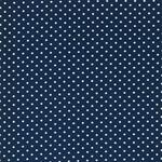 VERENA Jersey Punkte jeansblau