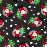 RAIK Sweat Weihnachtsmänner grau