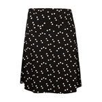 King Louie BORDER SKIRT STAR black