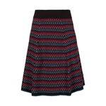 King Louie SKIRT MARBLE black