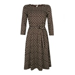 King Louie BETTY DRESS COCOA brunette br