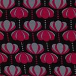 CHARLOTTE Jersey Tulpen pflaume grau pin