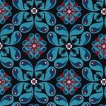 SQUIRREL MANDALA Jersey dunkelblau