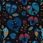 WOODLAND HEARTS Jersey dunkelblau