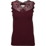Minus VANESSA TOP bordeaux