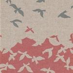 ECHINO BIRDSONG Bordüre pink natur
