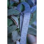 Farbenmix Webband FOREST GEO grau