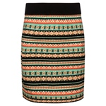 King Louie KNIT SKIRT LOUISVILLE black