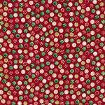 BAUBLE SPOT Webstoff rot