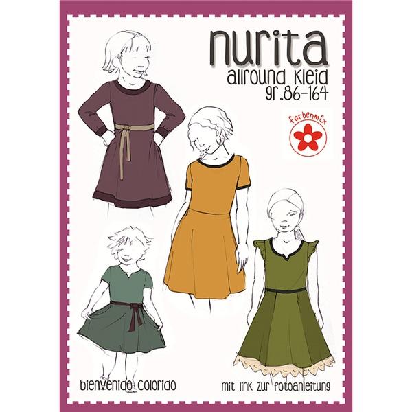 Farbenmix Schnittmuster NURITA