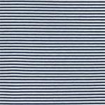 CALAERA Viskosejersey Streifen blau weiß