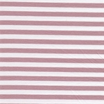 VAUBOURG Viskosejersey Streifen rosa wei