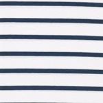 BENJA Viskosejersey Streifen blau weiß