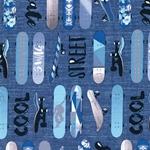SWAG BOARDS Sweat Skateboards blau