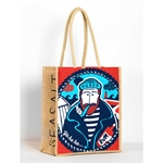 Seasalt JUTE SHOPPER Yo Ho Ho Fisherman