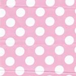 BIG 60`s Baumwollsatin Dots rosa