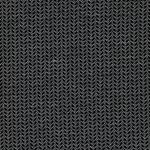ISABEL Jacquard Feinstrick schwarz weiß