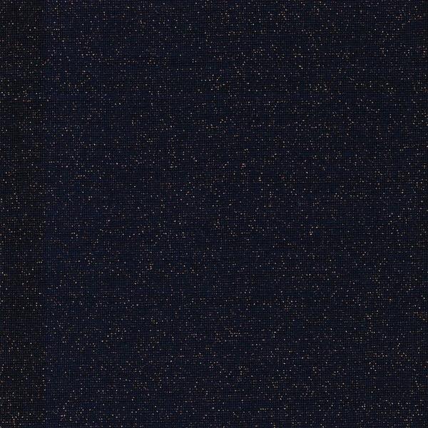 SVEN Lurex-Bündchen marine kupfer