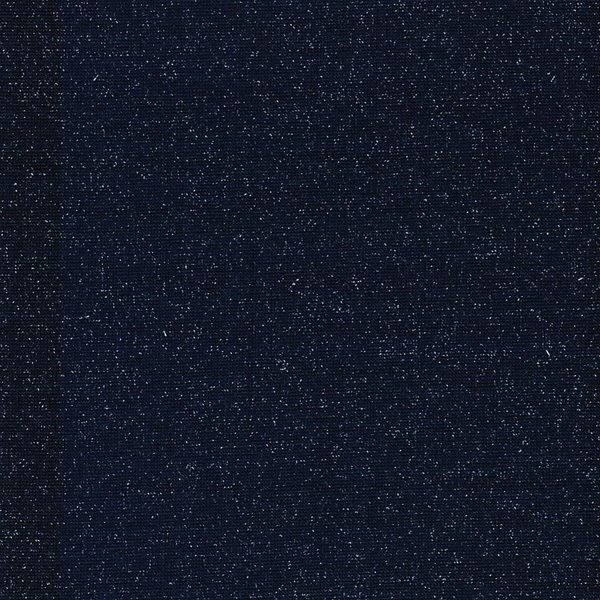 SVEN Lurex-Bündchen marine silber