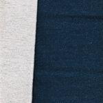 Doubleface-Teddy blau melange