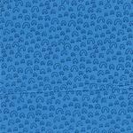 PHILIPP Popeline kleine Bögen blau