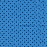PHILIPP Popeline Dreiecke blau
